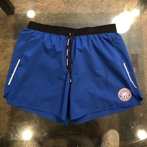 Men's Large 2-in-1 Nike Running Shorts